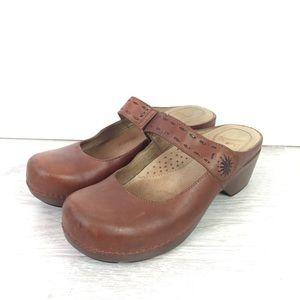 Dansko Mary Jane Mule Clog Size 39